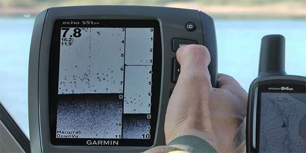 features of a fish finder