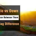 synthetic vs. down sleeping bag