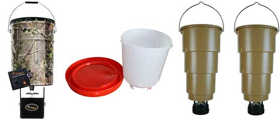 Feeders with Buckets​​​​ and Barrels