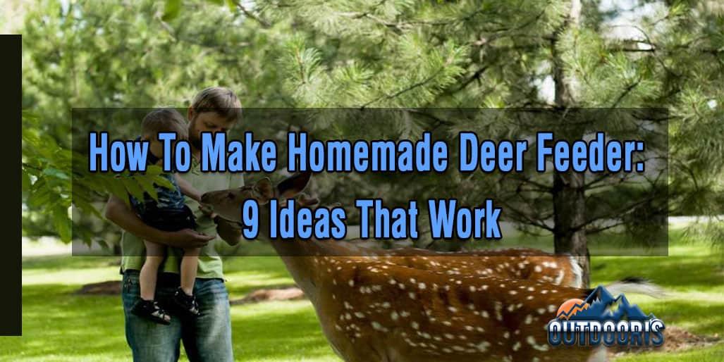 How To Make Homemade Deer Feeder: 9