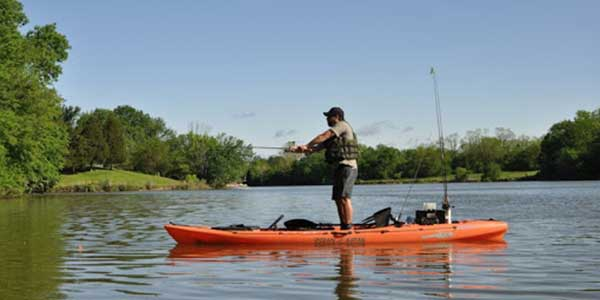 Find Other kayakers To Go Fishing With