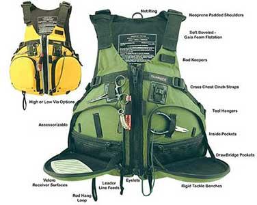 life jacket for fishing