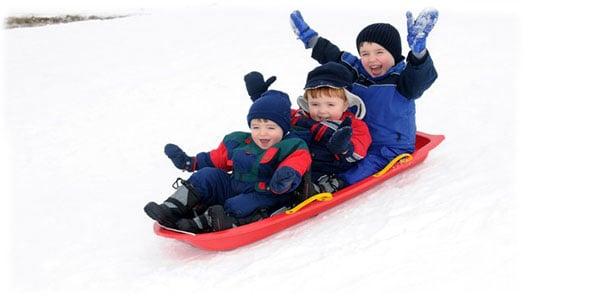 sledding for kid