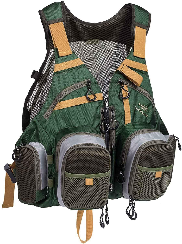 bassdash fishing vest