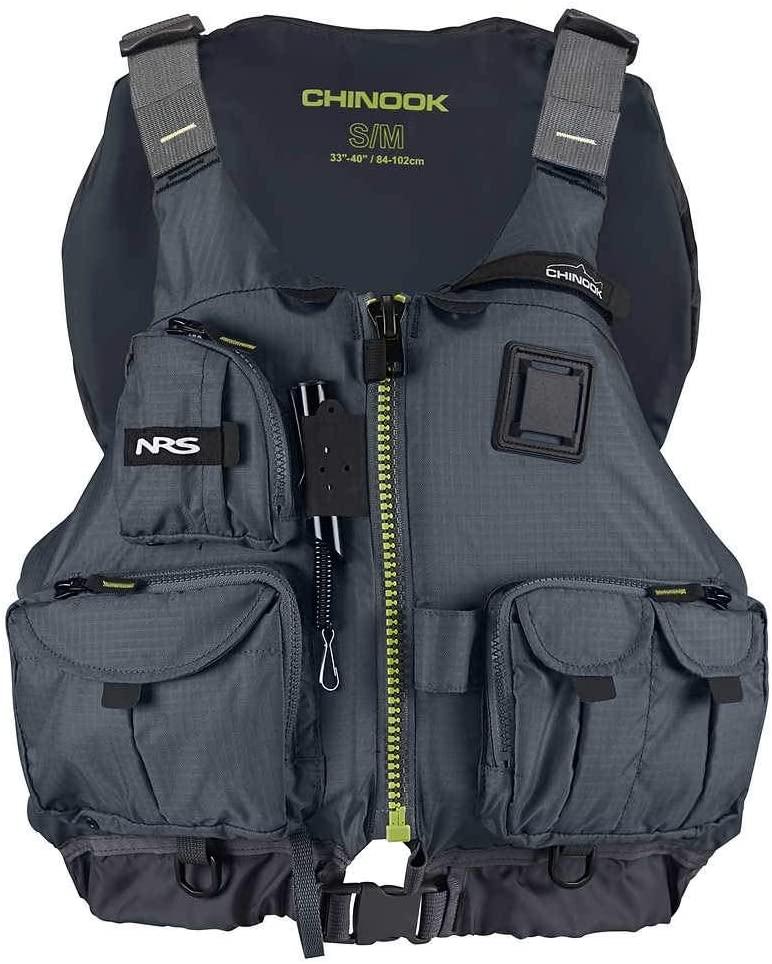 nrs chinook fishing life jacket
