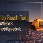 best pop up beach tent