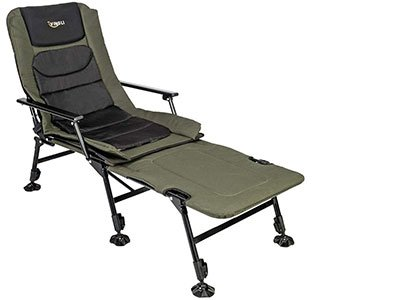 VINGlI Folding Fishing Chair withFoot Rest Attachment