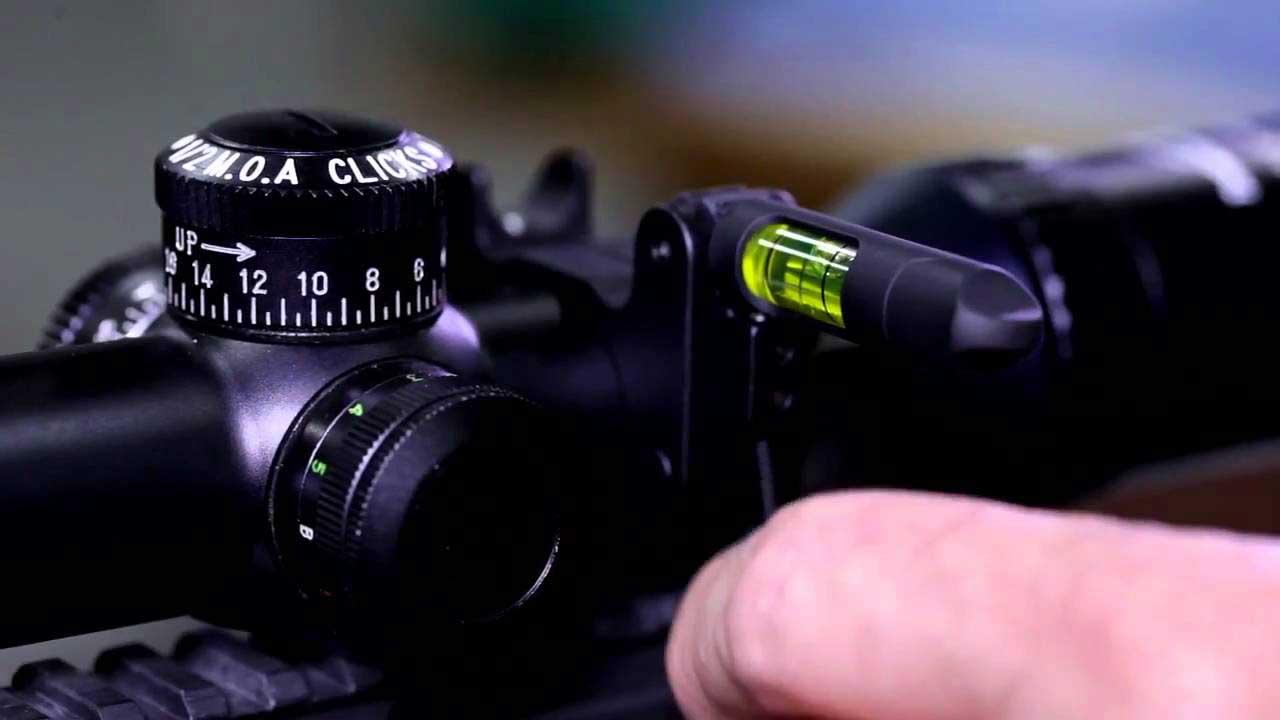 rifle scope level