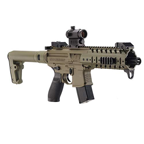 Sig Sauer MPX .177 Cal CO2 Powered Red Dot Air Rifle